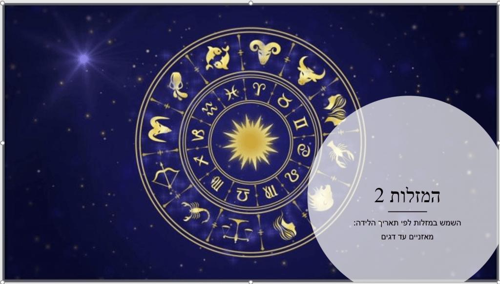 קורס אסטרולוגיה המזלות 2
