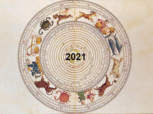 אסטרולוגיה 2021