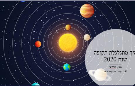 שנת 2020 אסטרולוגיה